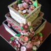 Tracy's cookie wedding cake: Flower 'cake'