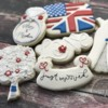 Royal wedding cookies