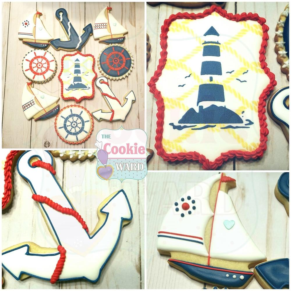 Nautical Theme Cookies