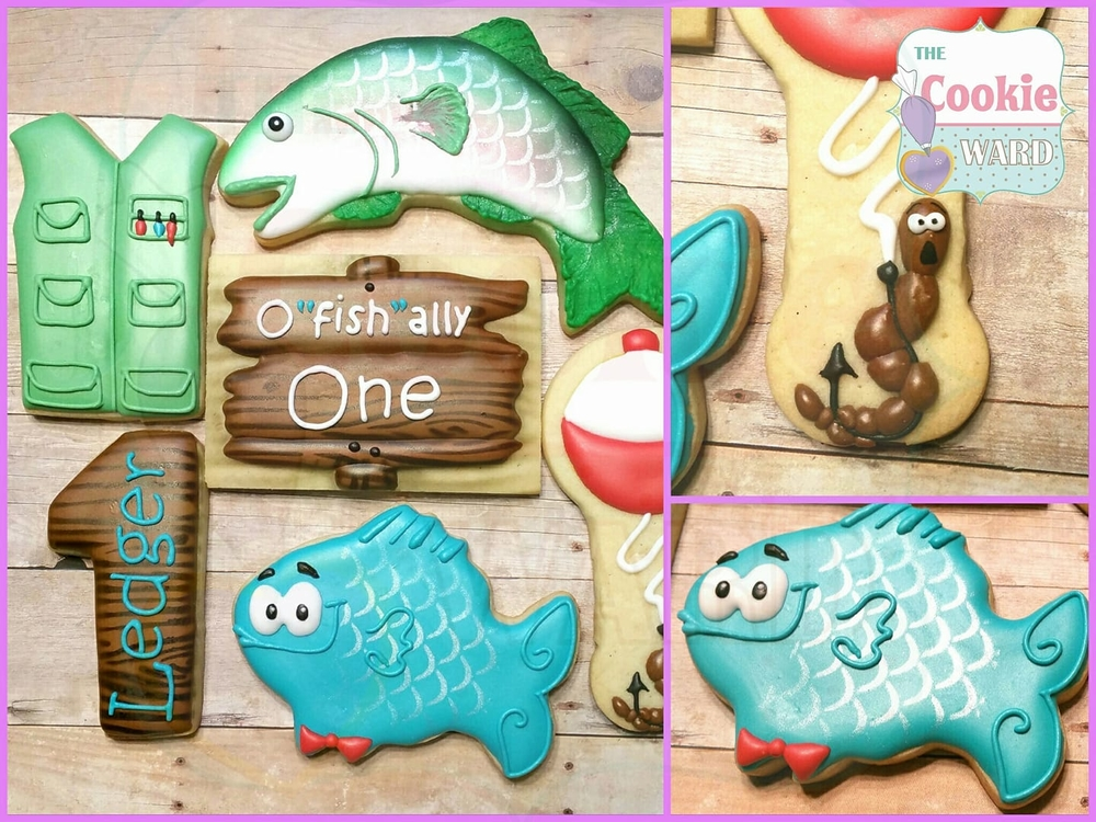 """O""""fish""""ally One Cookies"""