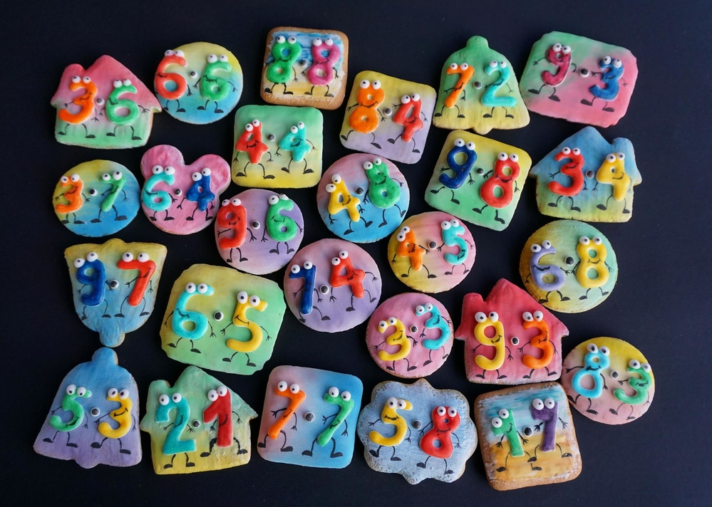 Funny Times Tables Cookies