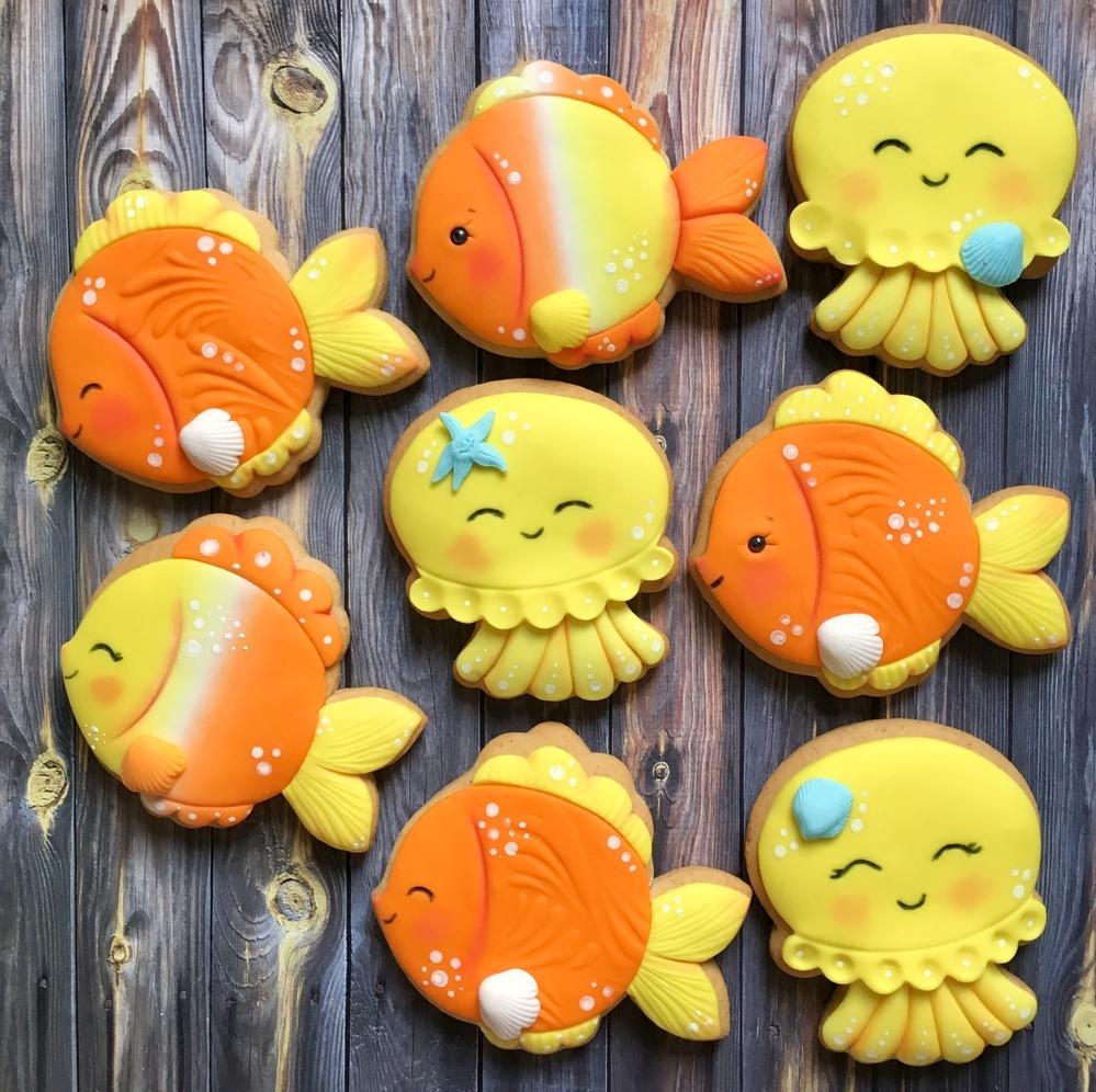 Fish or Jellyfish 💛🧡❤️