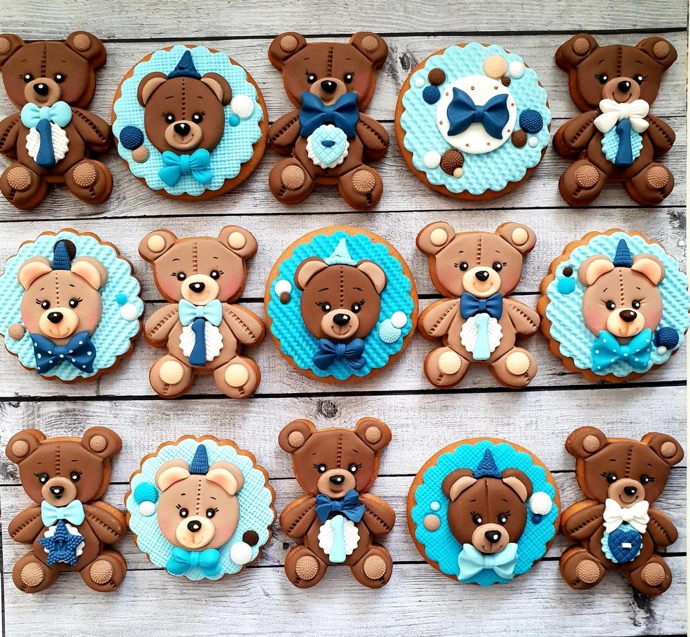 Mario's bear cookies
