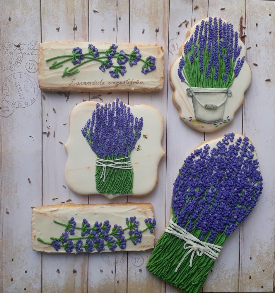Spring Lavender Cookies