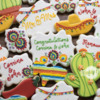Mexican Themed Wedding Cookies
