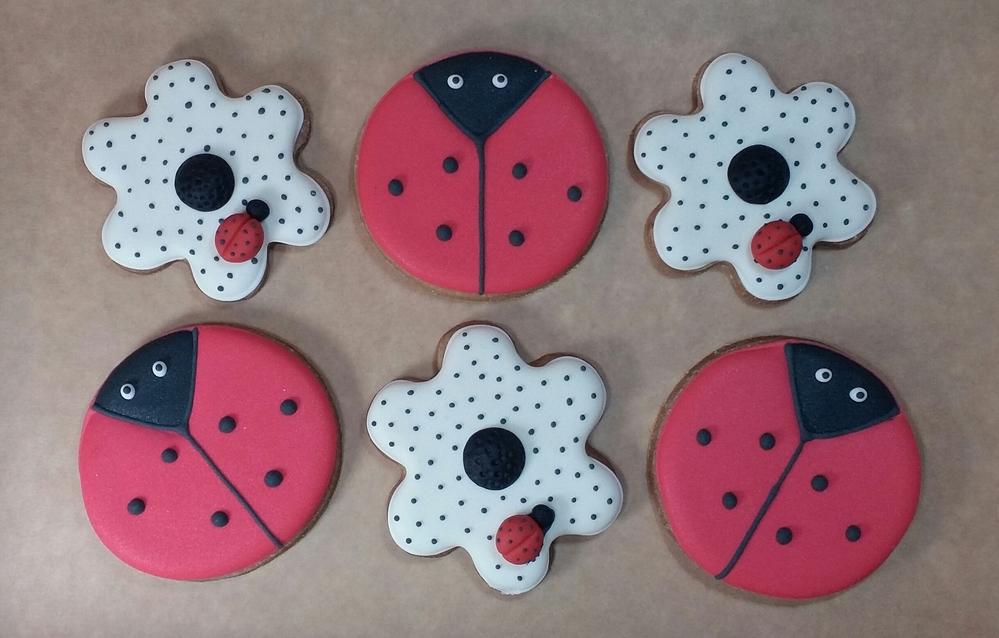 Lady Bugs Cookies