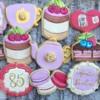 Tea Party Birthday Cookies