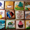 Handpainted Mother's Day Cookies