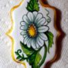 Handpainted Flower Cookie