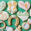 Tender Summer Wedding Set by Peony Cookies Studio (2)