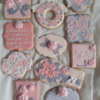 Rose Cookies Birthday Set