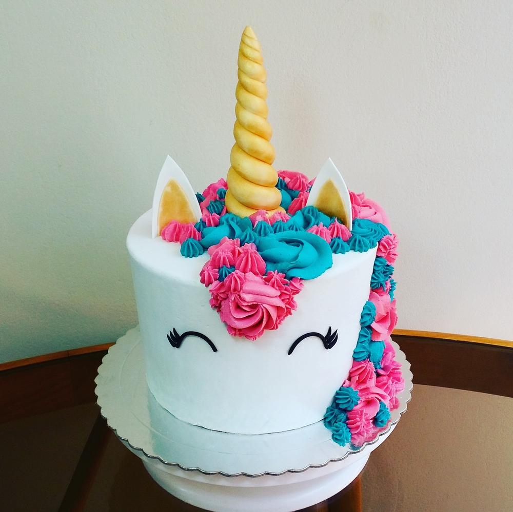Fresh Unicorn Cake