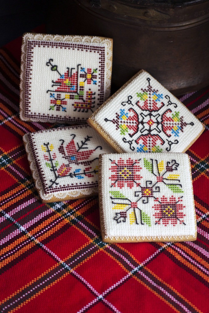 Bulgarian Folklore Embroideries