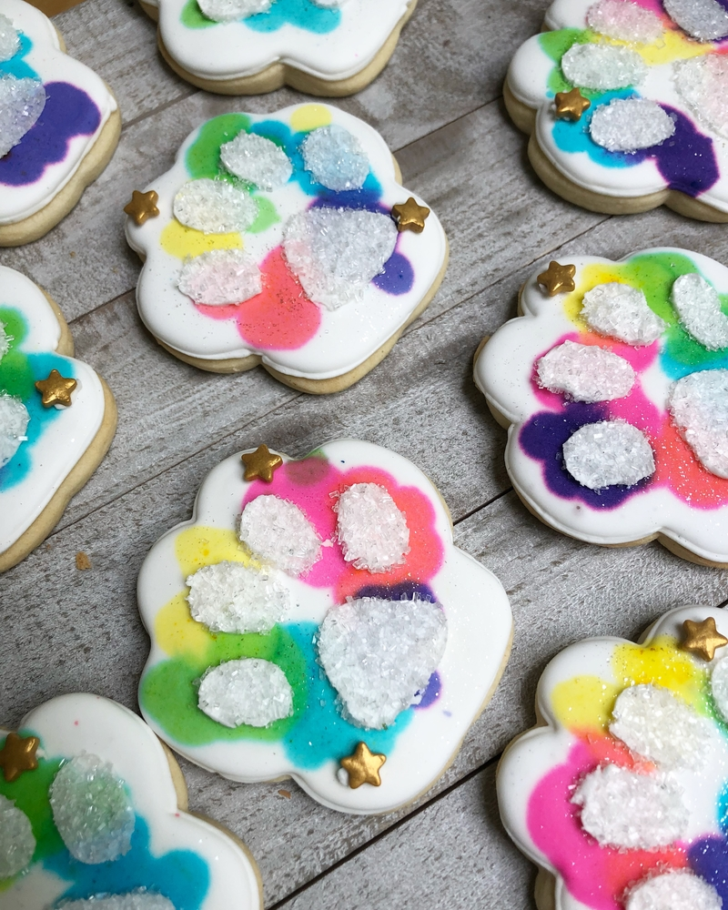 Paw cookies