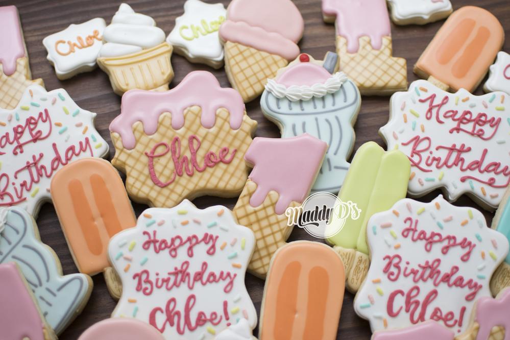Ice Cream Fist Birthday