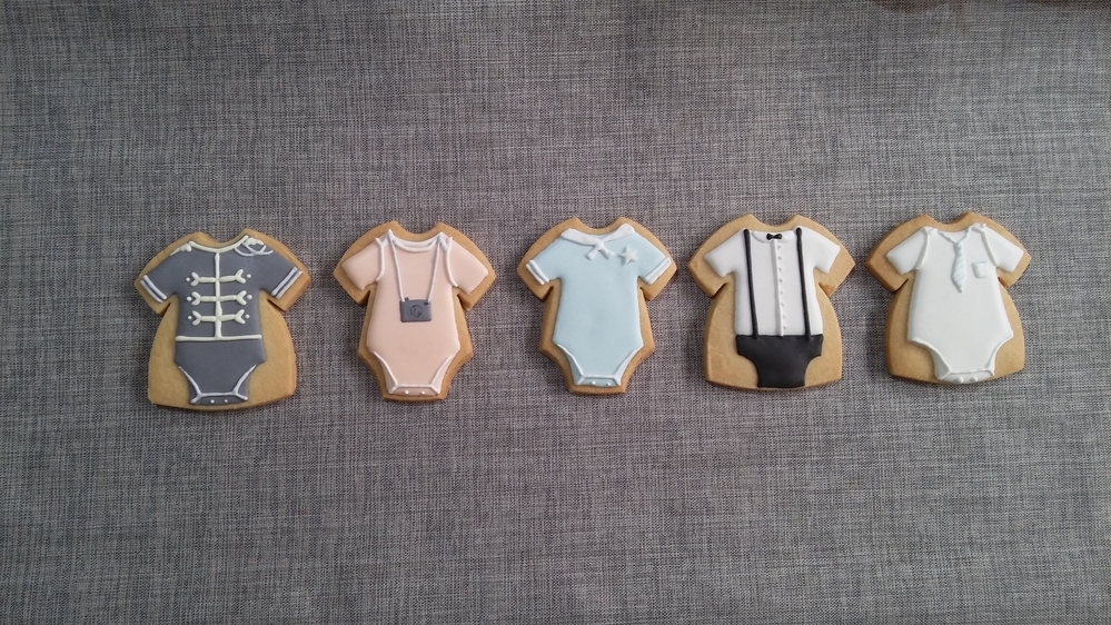 More Baby Shower Cookies for Mateo