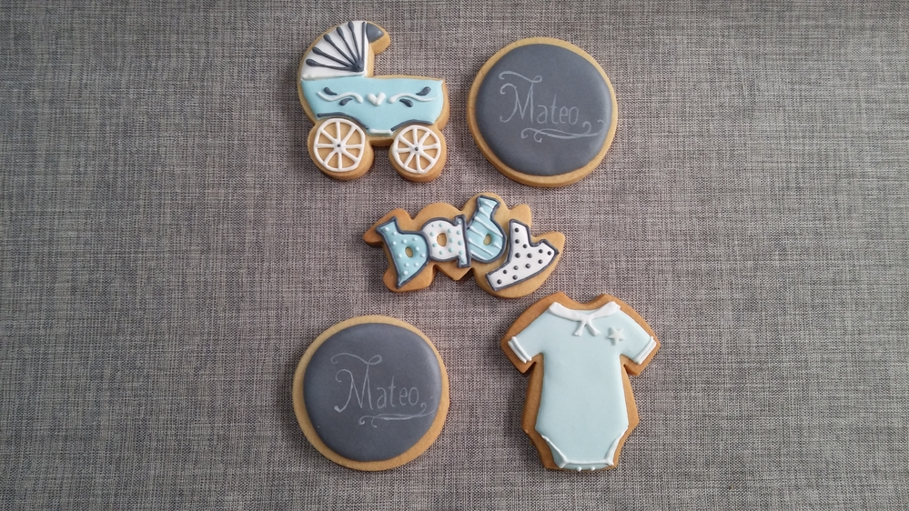 And More Baby Shower Cookies for Mateo