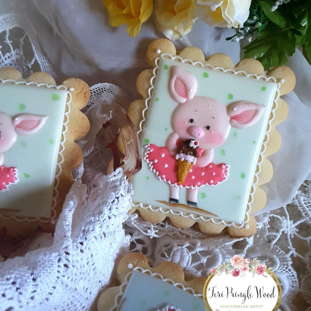 Piggies and Ice Cream