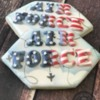Military retirement cookies