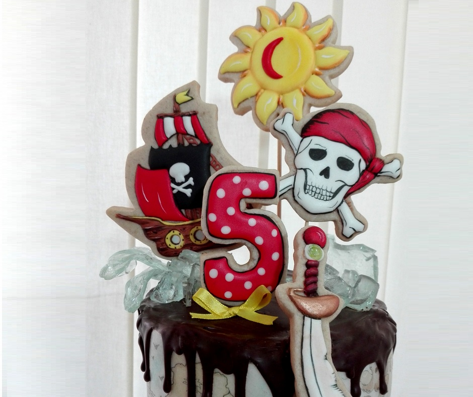 Pirate's Cookie Cake
