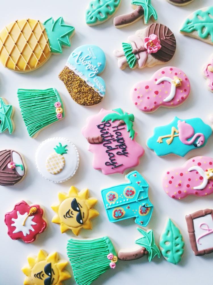 Luau Cookies