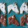 Horse Cookies by Peony Cookies Studio