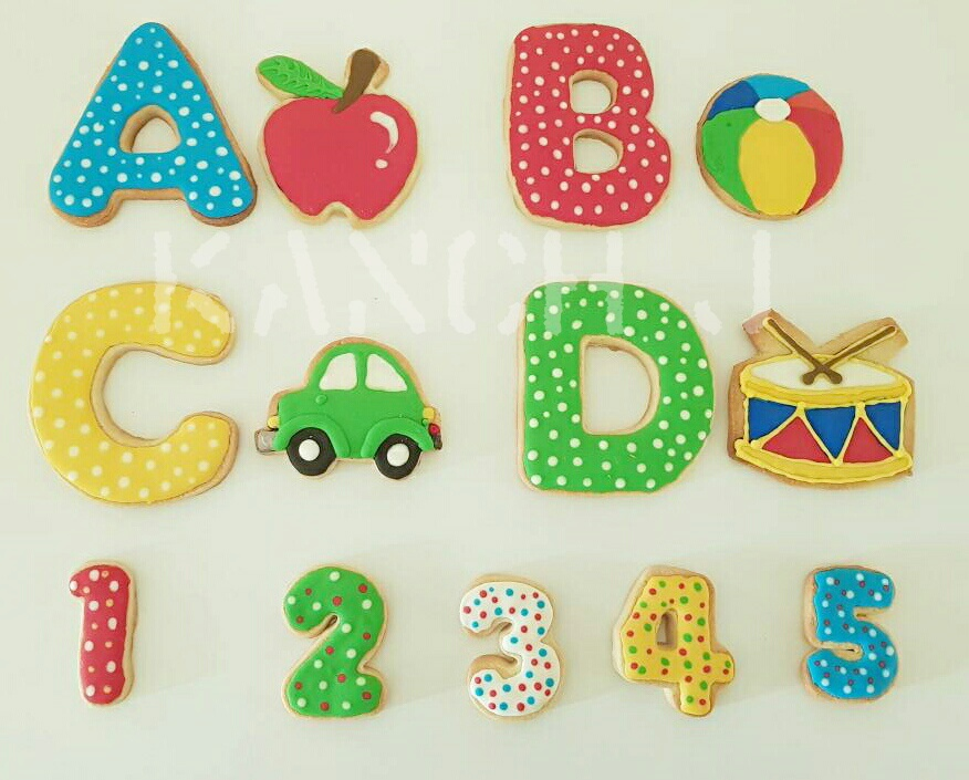 ABCD Cookies by Kanch J