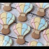 Hot Air Balloon Cookies by Emma's Sweets