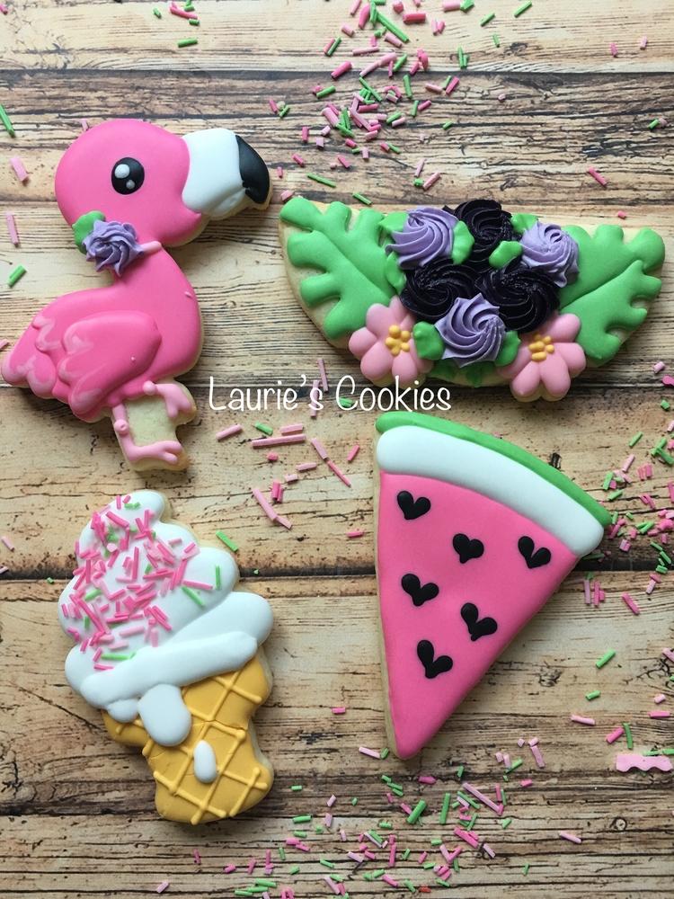 Flamingo, Florals and Summer Fun