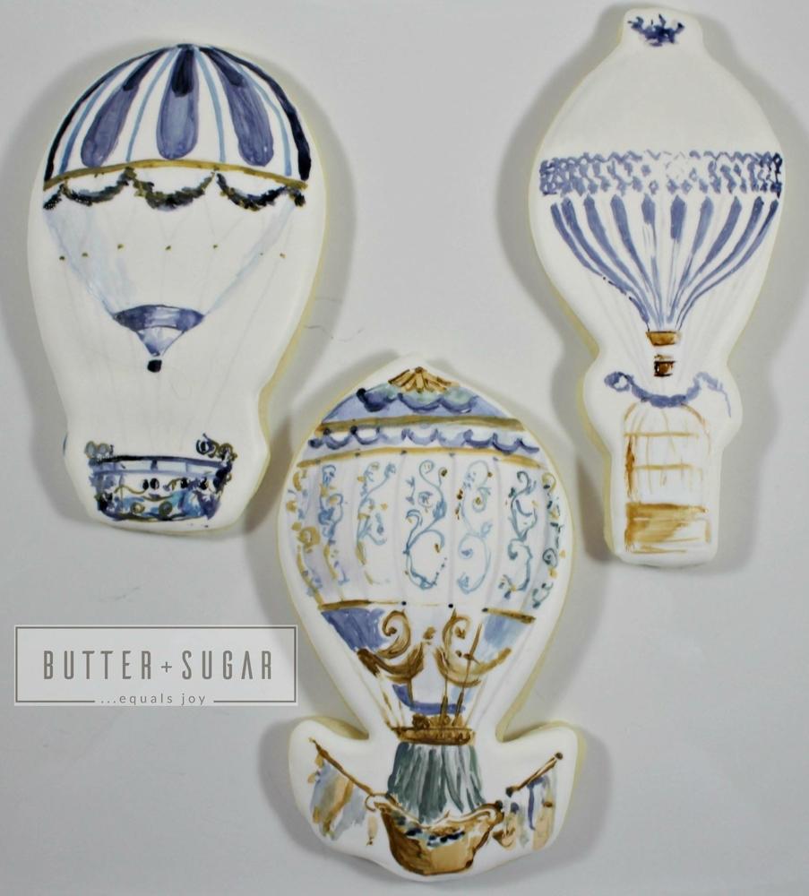 Victorian balloon trio