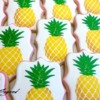 Stenciled Pineapples