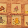 Classic Pooh Bear painted cookie set