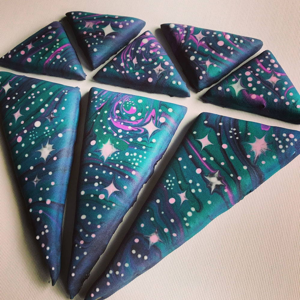 Diamond Galaxy Cookie