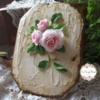 Rustic and roses