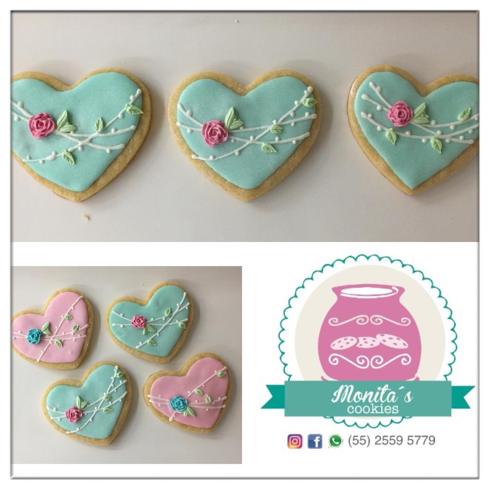 hearts. Monita's Cookies