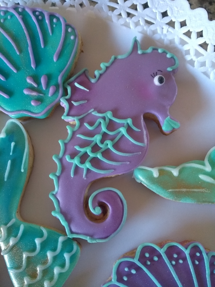 Seahorse and Shell