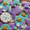 Little Mermaid Cookies