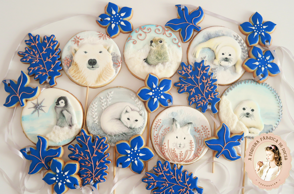 Winter Animals - CookieCon Sugar Show