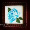 Obraz z różą