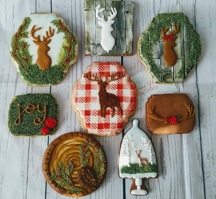 Christmas Reindeer Cookie Set