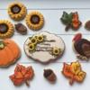 Thanksgiving cookie set.