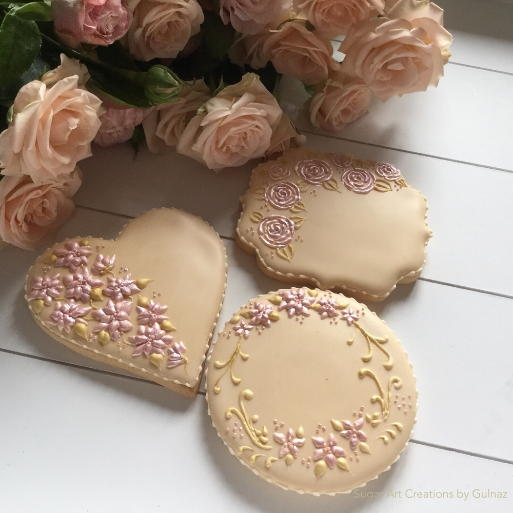 Wedding favour cookies.