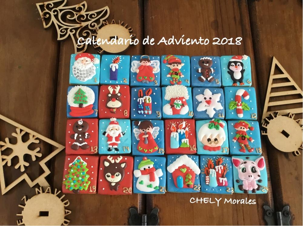 Calendario de Adviento 2018!