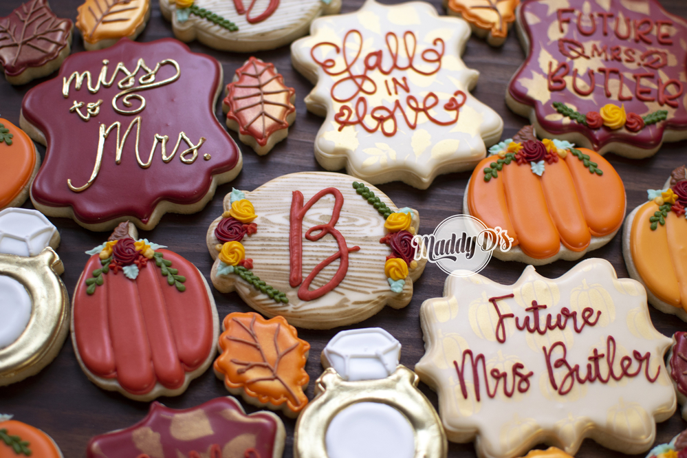 """Fall"" in Love Bridal Shower Set"