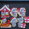 Christmas Bears Cookies  Icing