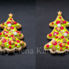 Christmas tree cookie, Icing