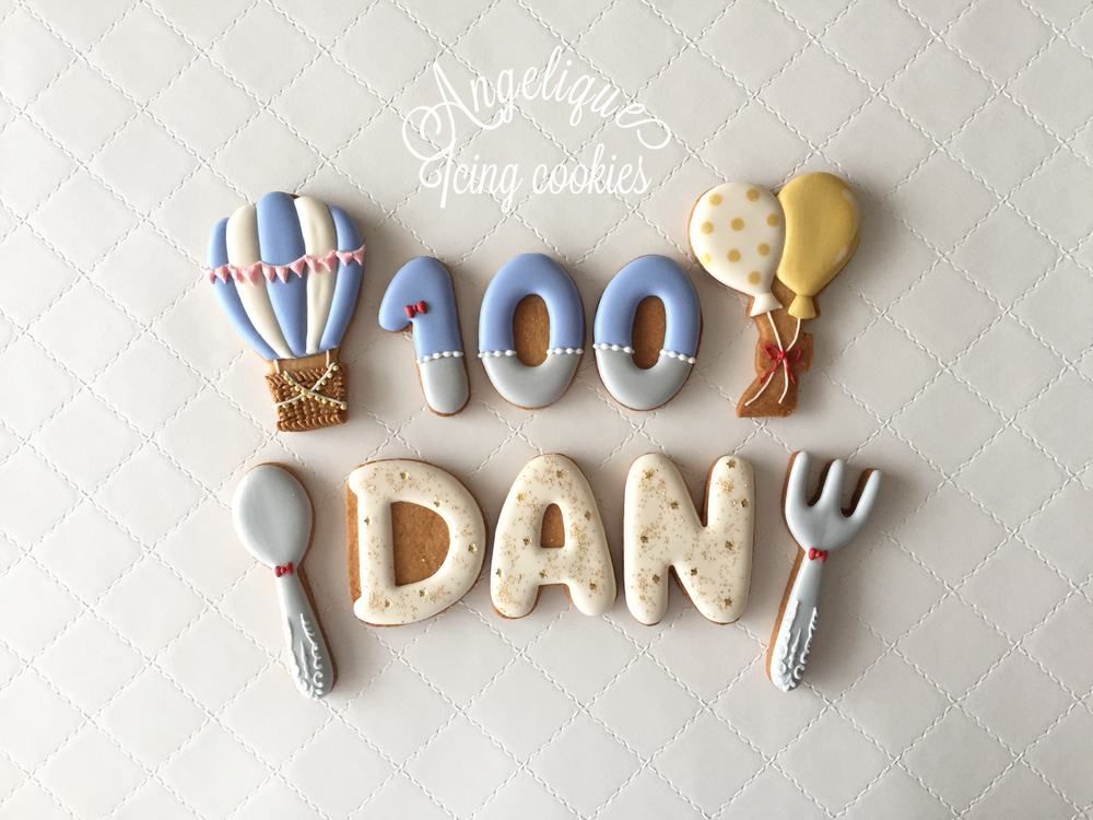 100 Days Cookies