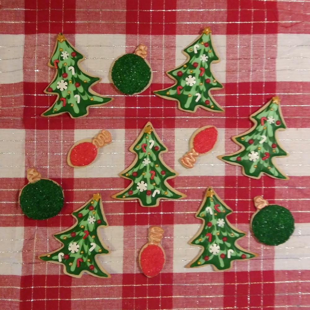 Christmas Cookie Set for a Cookie Exchange
