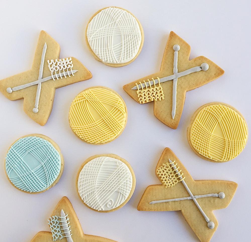 Knitting Cookies