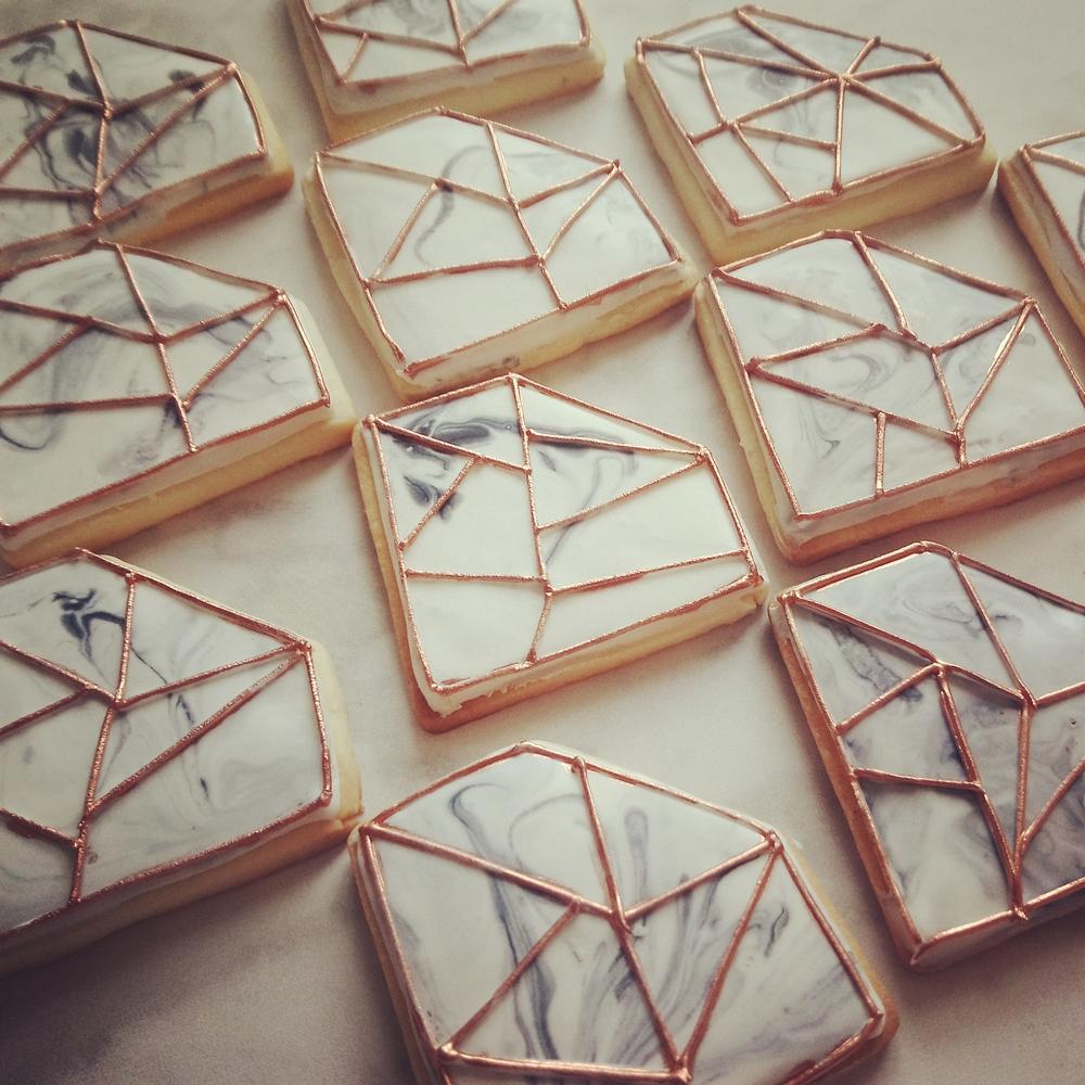 Marbled Cookies